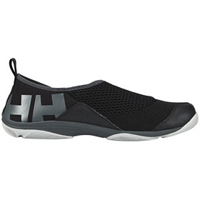 Helly Hansen Watermoc 2 Shoes Men jet black / ebony / new light gry